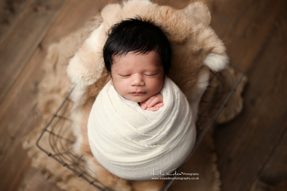 Newborn baby boy 11 days old - Kate Eden Photography - Milton Keynes newborn photographer