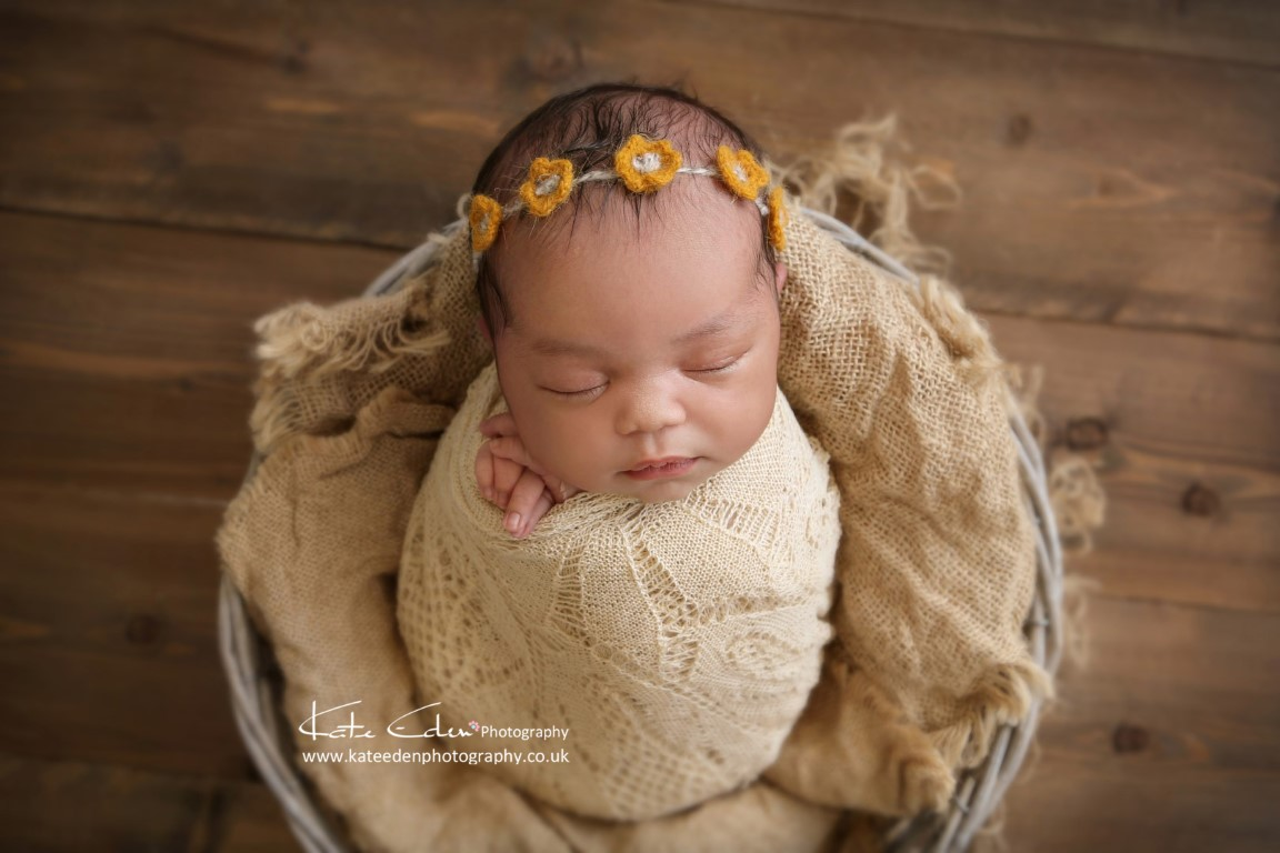Newborn baby photo session - Kate Eden Photography