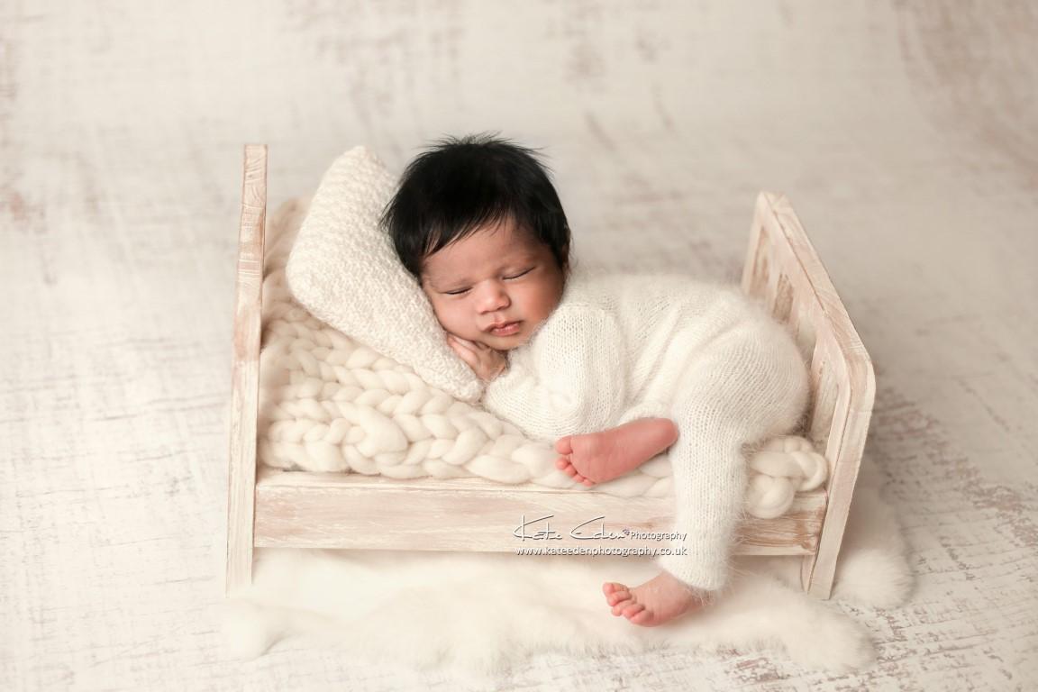 Newborn baby photoshoot - Kate Eden Photography - Milton Keynes newborn photographer