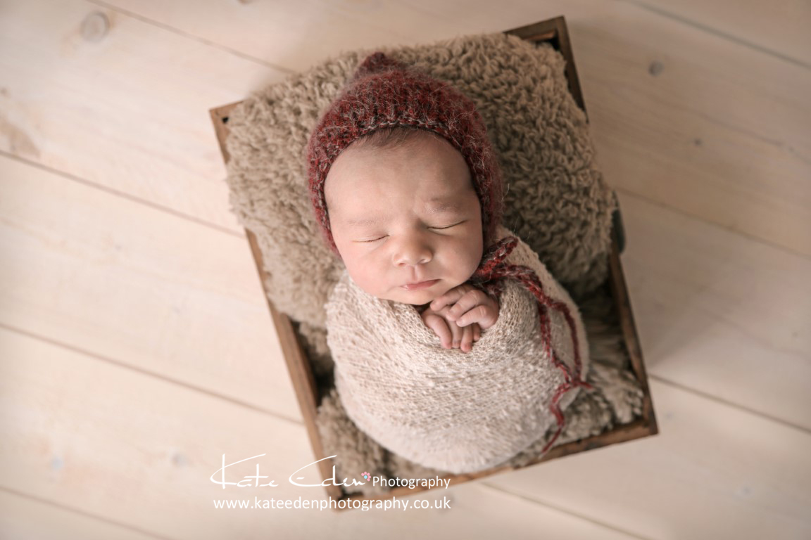 Cute newborn baby boy - newborn photographer Aberdeen