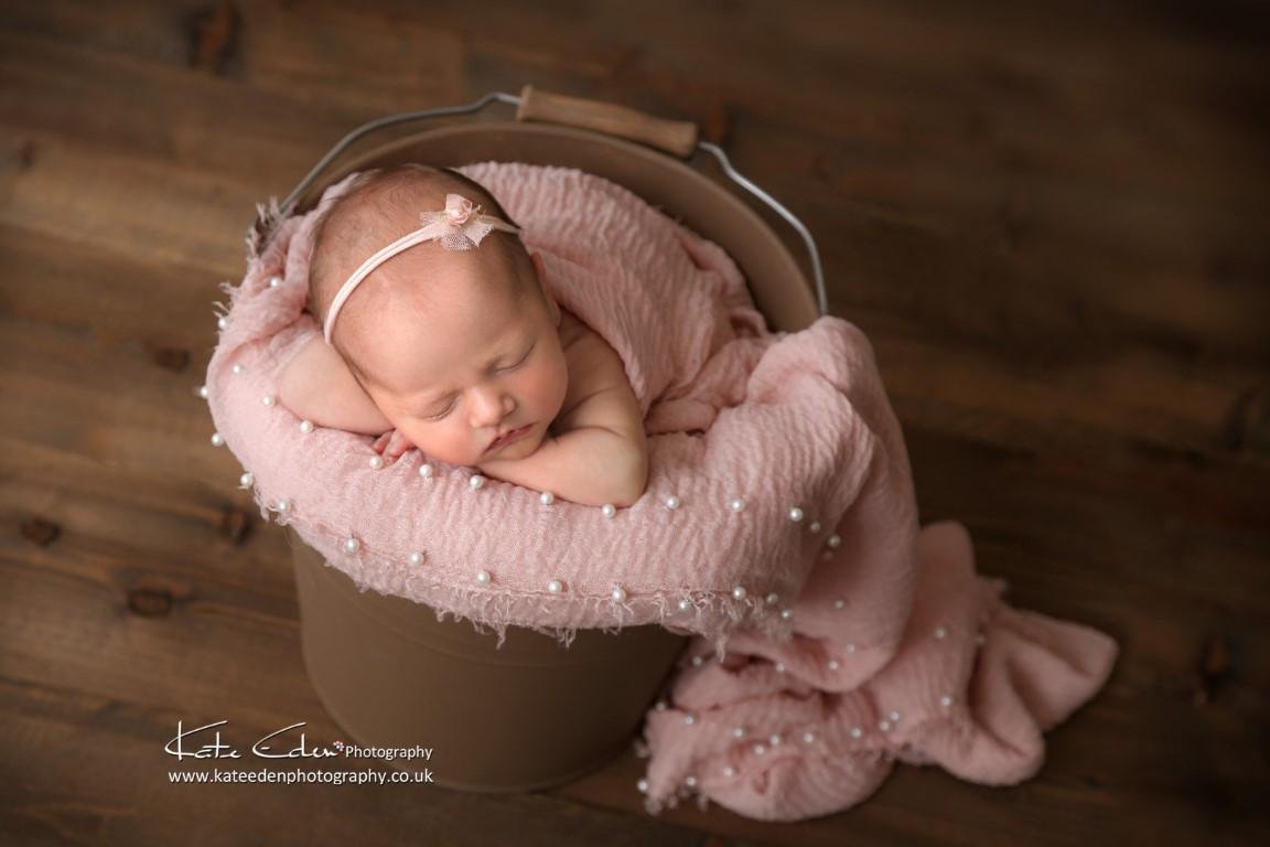 Teeny tiny newborn baby girl - newborn photography Scotland - Kate Eden Photography