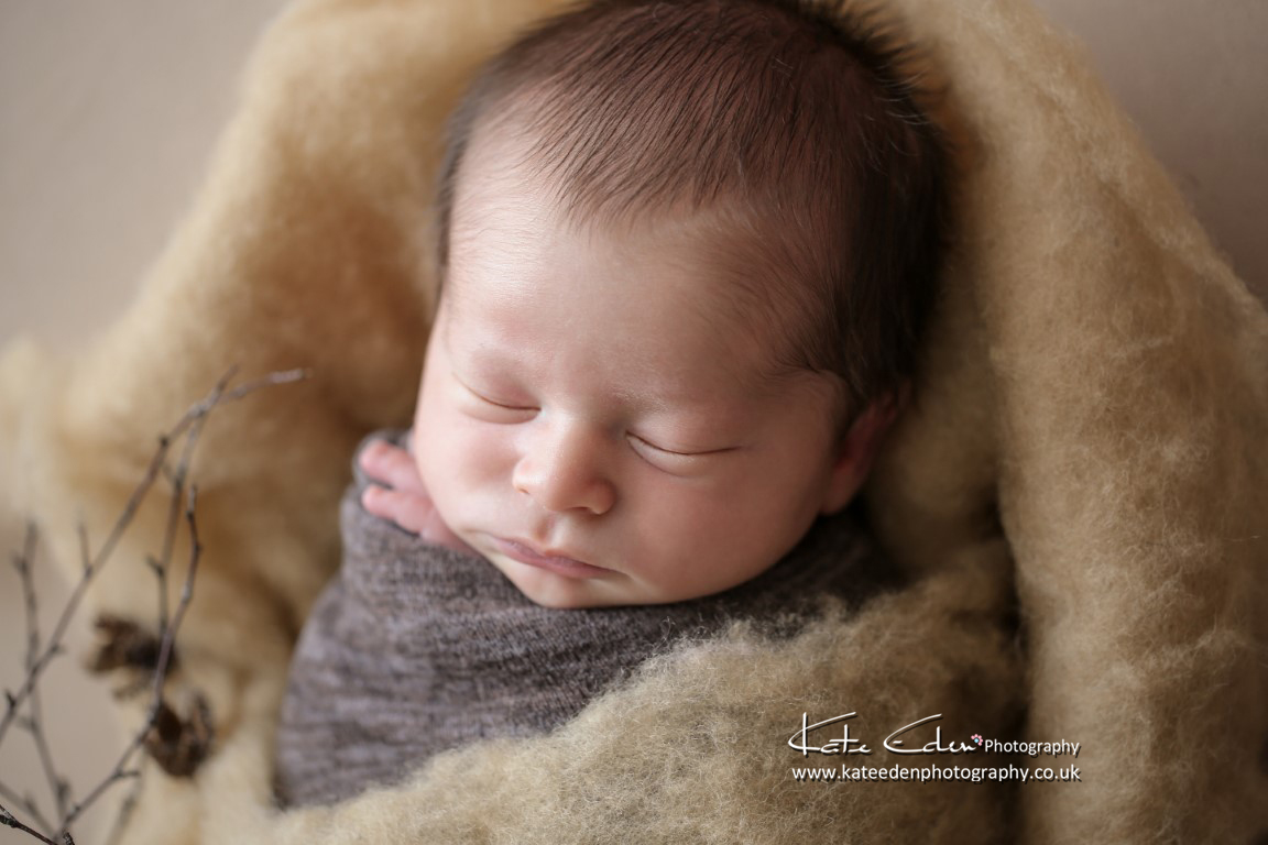 Newborn baby as art - newborn photography Aberdeen