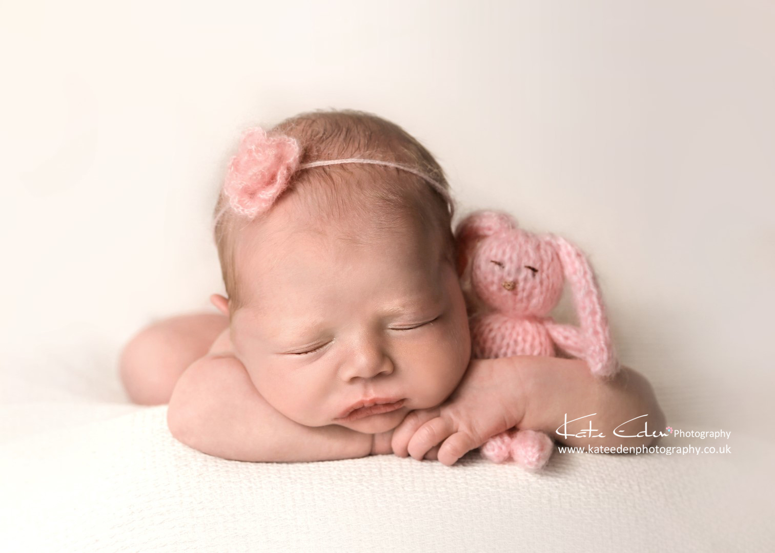 Easter bunny - newborn photographer Aberdeen