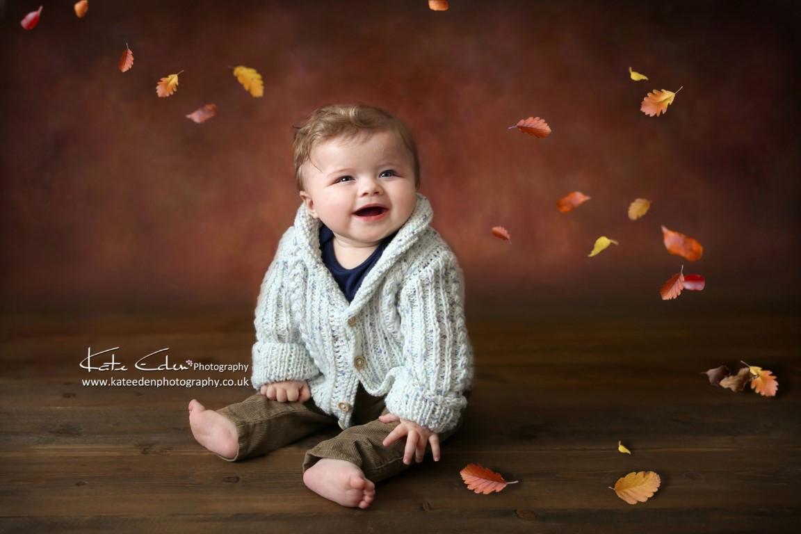 Autumn - fall -baby boy - Kate Eden Photography