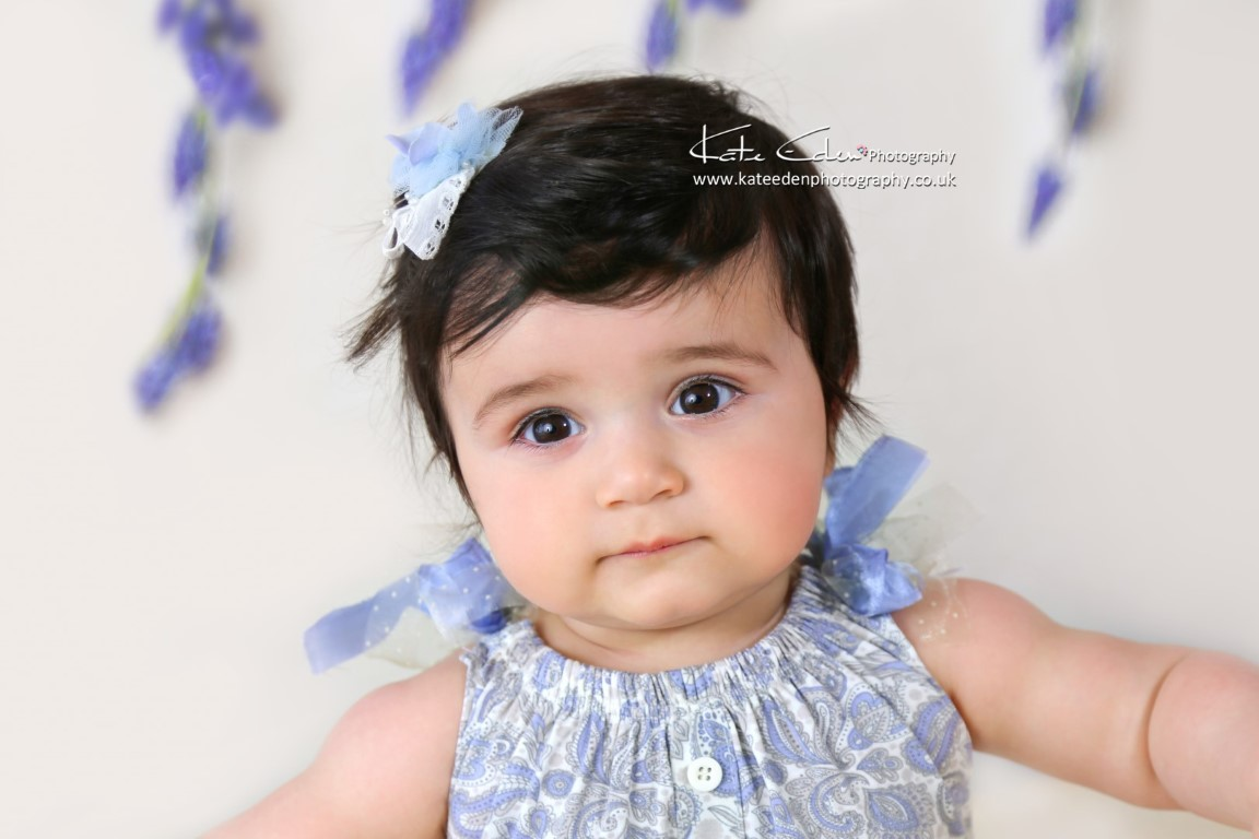 10 months old baby girl - baby photographer Aberdeen