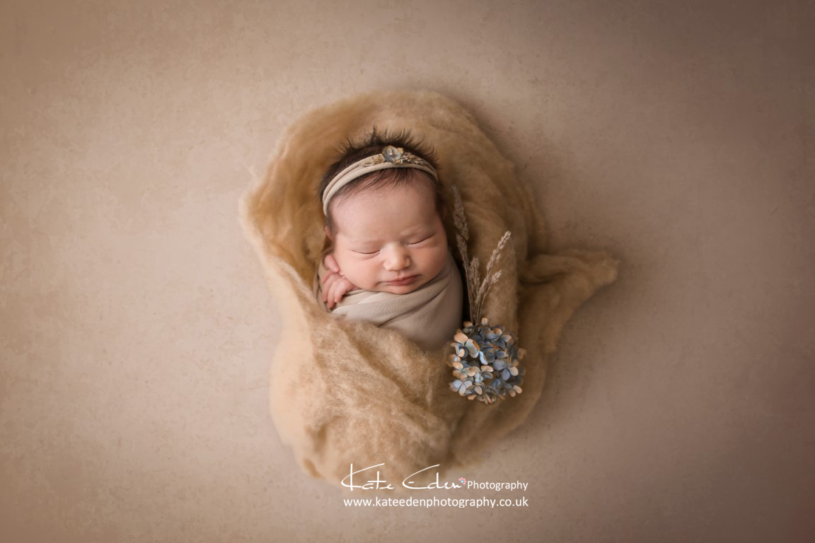 Baby as art - newborn photography Aberdeen