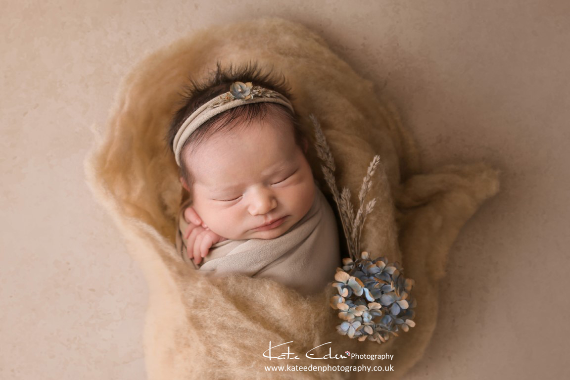 Newborn as art - newborn photography Aberdeen