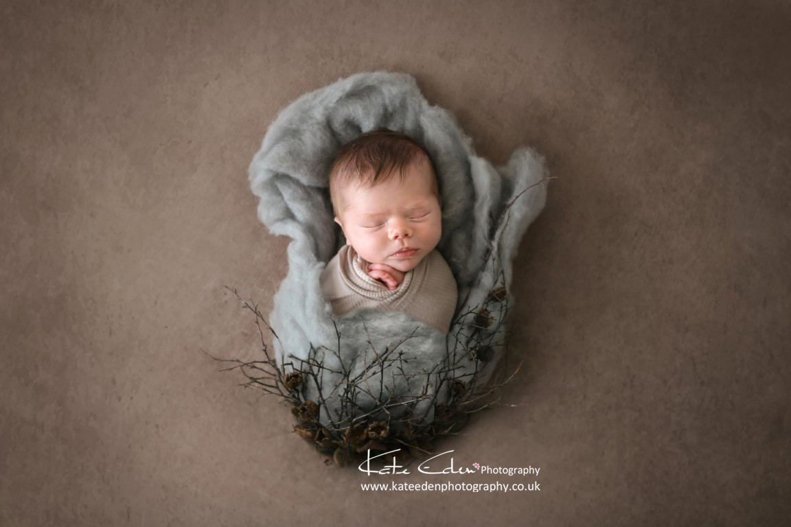 Newborn as art - newborn photographer Aberdeen