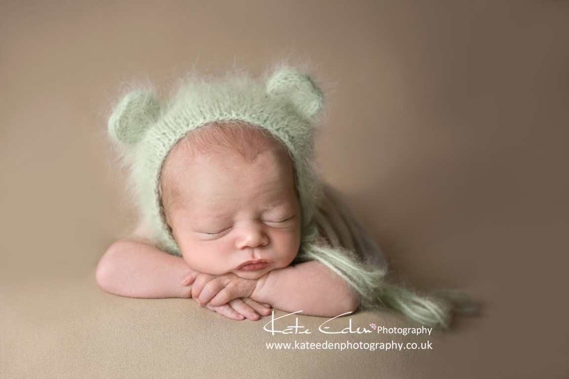 baby bear - newborn photography Aberdeen
