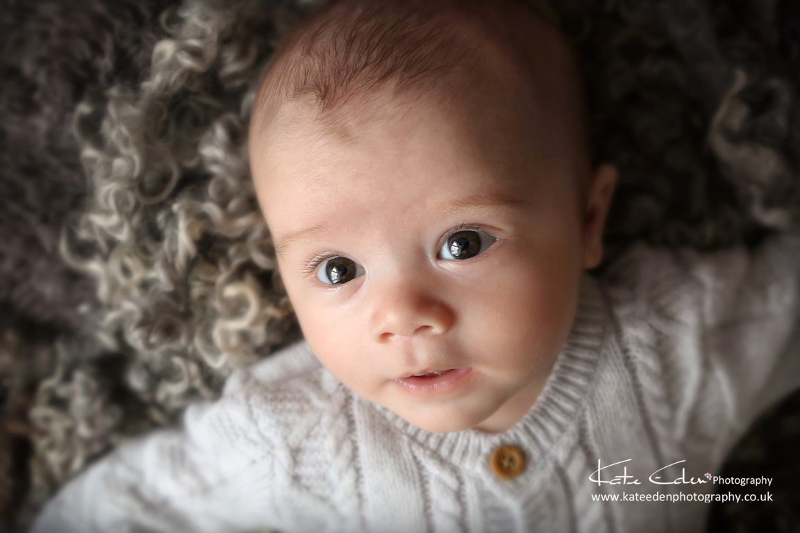 Such a handsome 3 months old baby boy - baby photographer Aberdeen