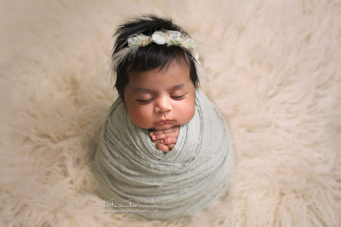 A lovely baby girl - Kate Eden Photography - Milton Keynes newborn photographer