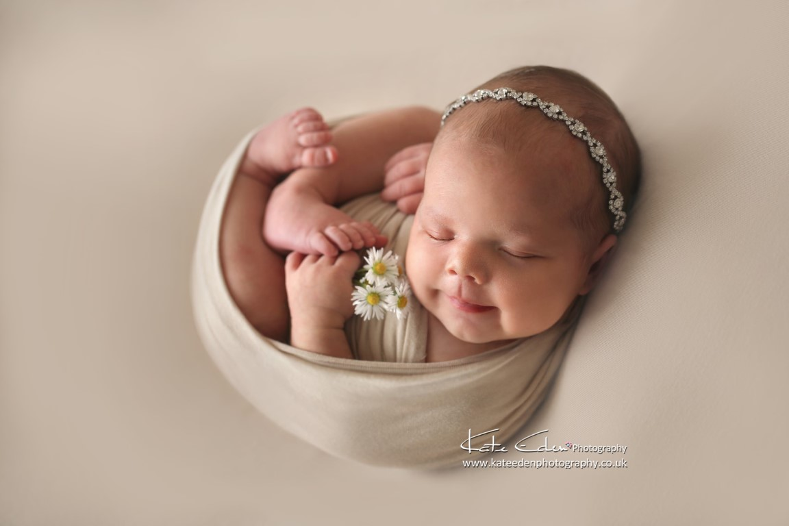 Baby Daisy - Kate Eden Photography - Aberdeen