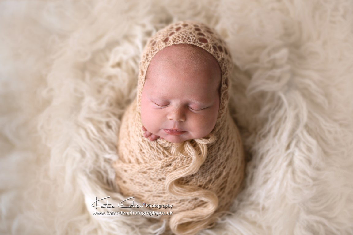 Adorable newborn baby girl - newborn photography Aberdeen