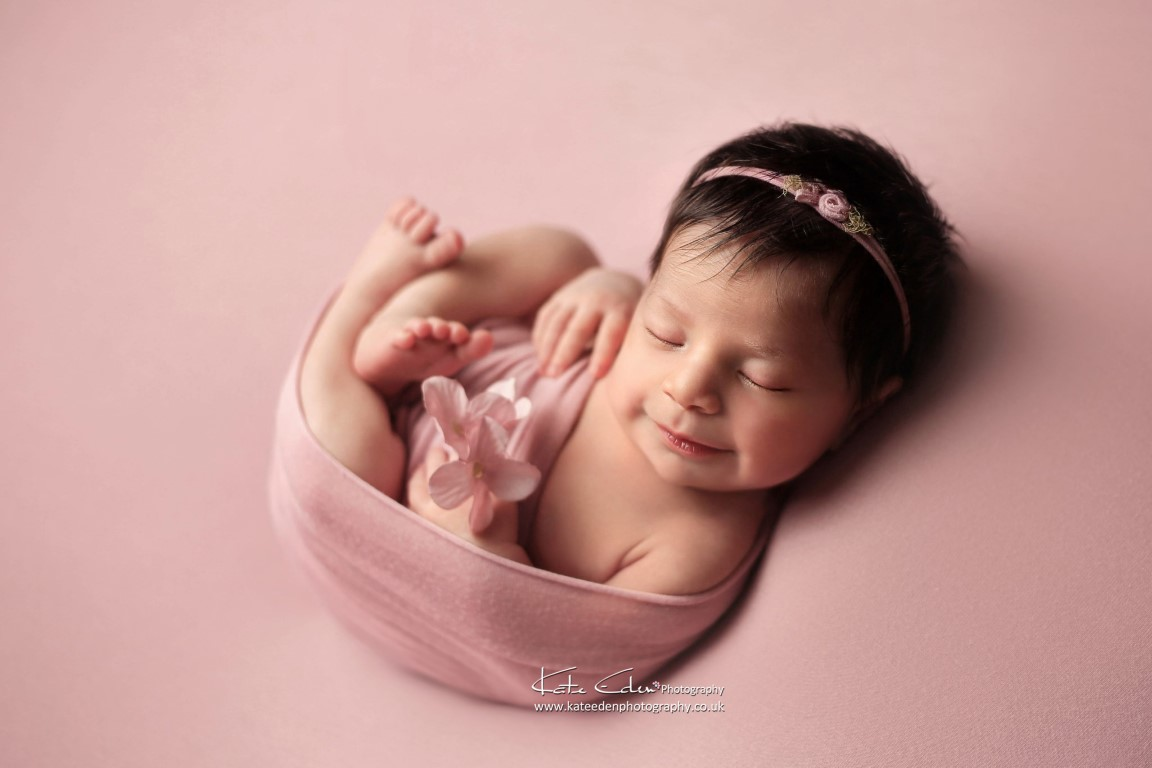 Baby's first photoshoot in Milton Keynes - Kate Eden Photography