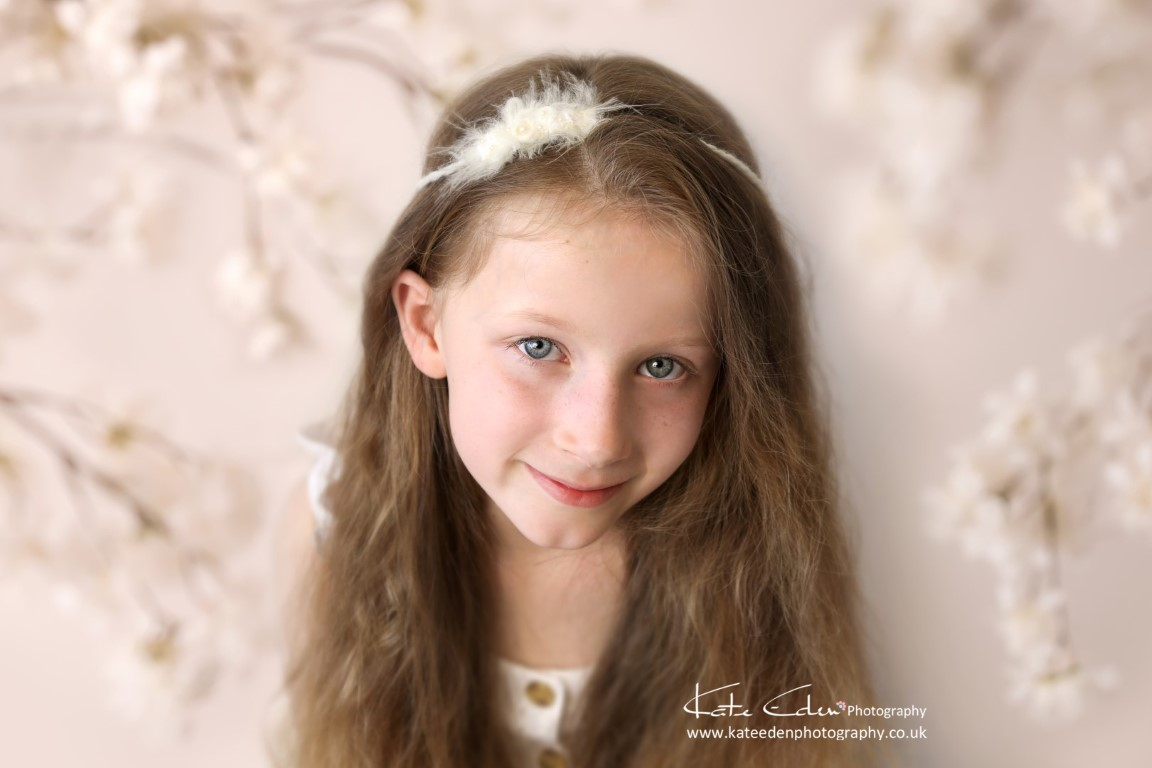 Such a lovely 8-years-old girl - Aberdeen child photographer