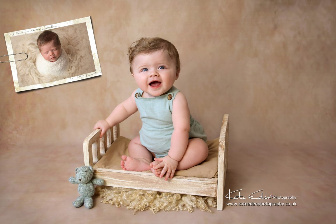 7 months old baby boy - baby photography Aberdeen - Kate Eden Photography