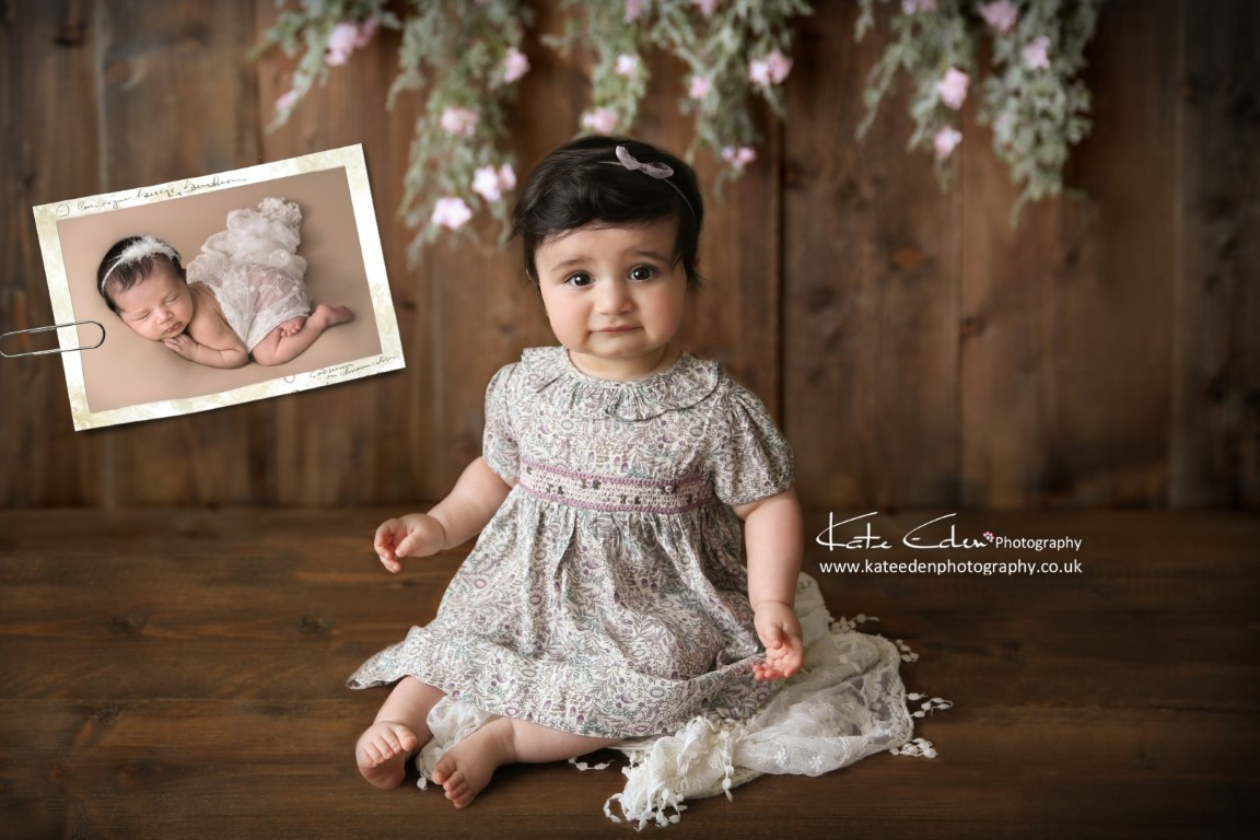then and now photography - baby photographer Aberdeen