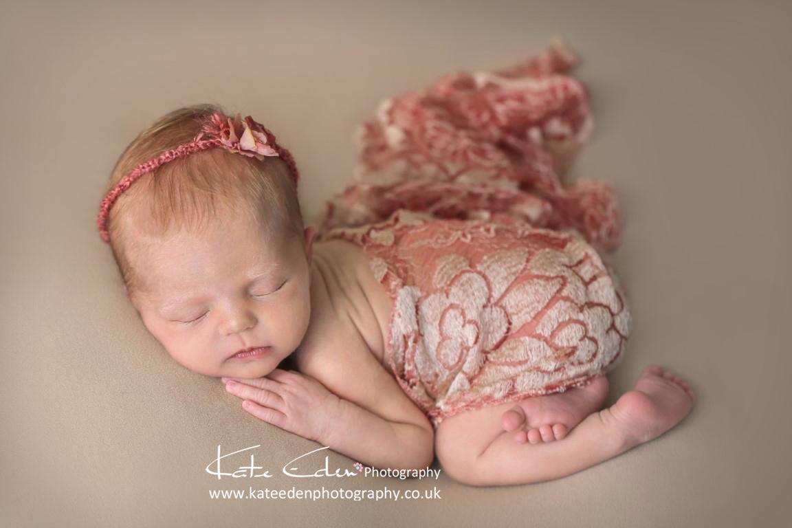 Such a beautiful newborn girl - Newborn Photographer Aberdeen