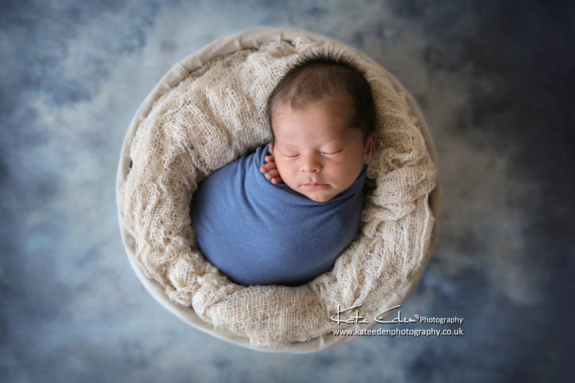 Handsome newborn baby boy - newborn photography Aberdeen