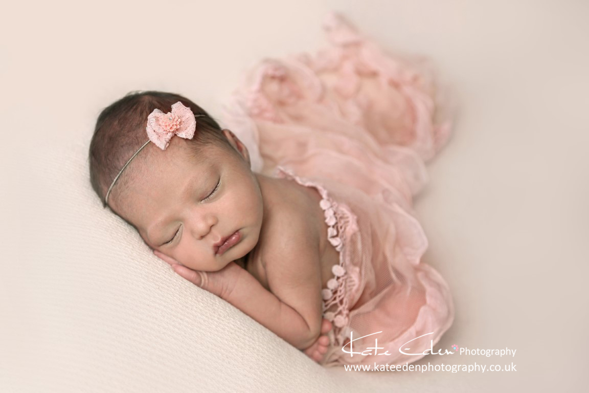 newborn baby girl - newborn photography Aberdeen