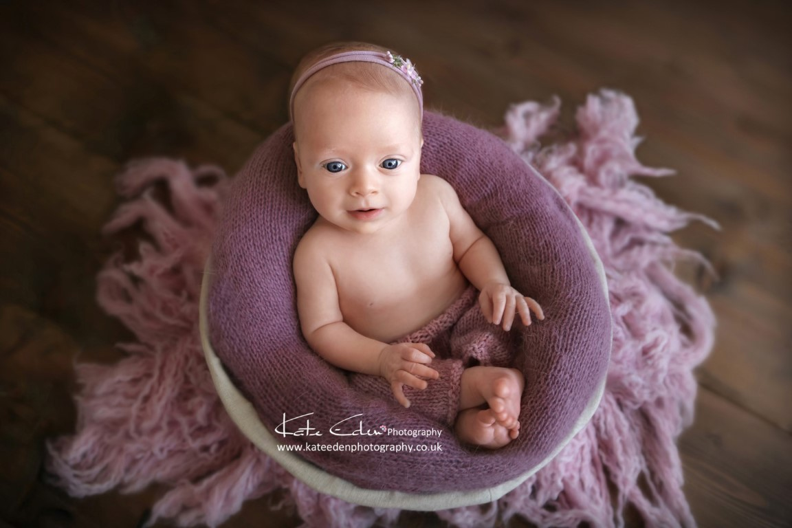 lovely premature baby girl - Aberdeen baby photographer