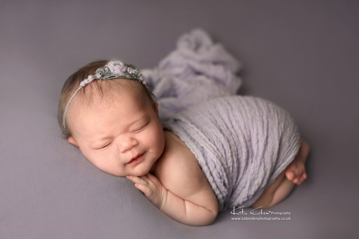 1-month-old baby photoshoot - Kate Eden Photography - Milton Keynes newborn photographer
