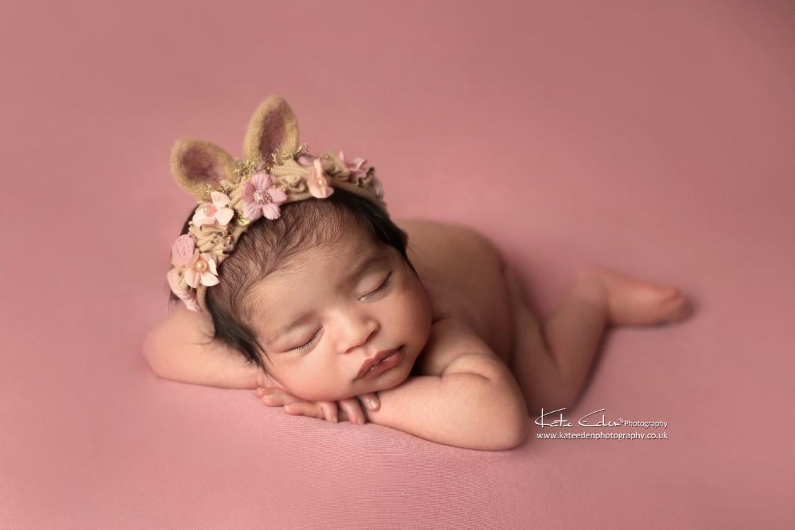 Newborn baby bunny - Kate Eden Photography - Milton Keynes Newborn photographer