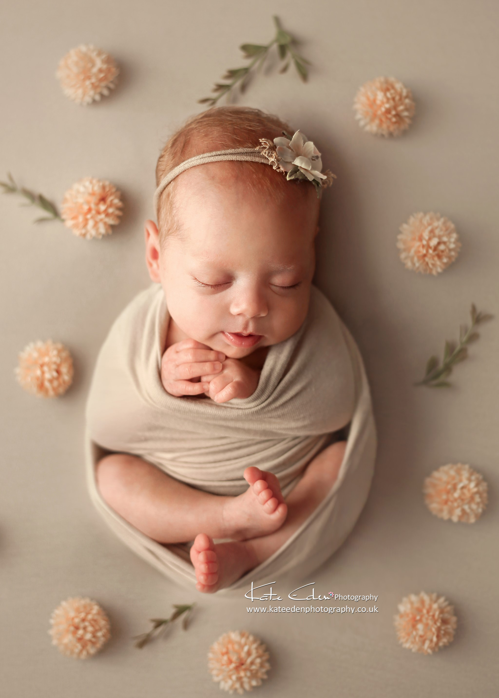 Premature baby girl - Kate Eden Photography - Milton Keynes newborn photographer