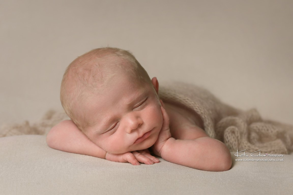 Gorgeous newborn baby boy - natural newborn photography - Kate Eden Photography -Milton Keynes