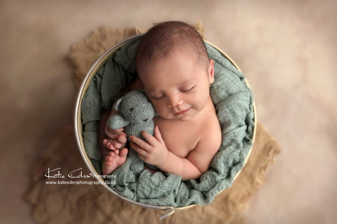 cute newborn baby boy
