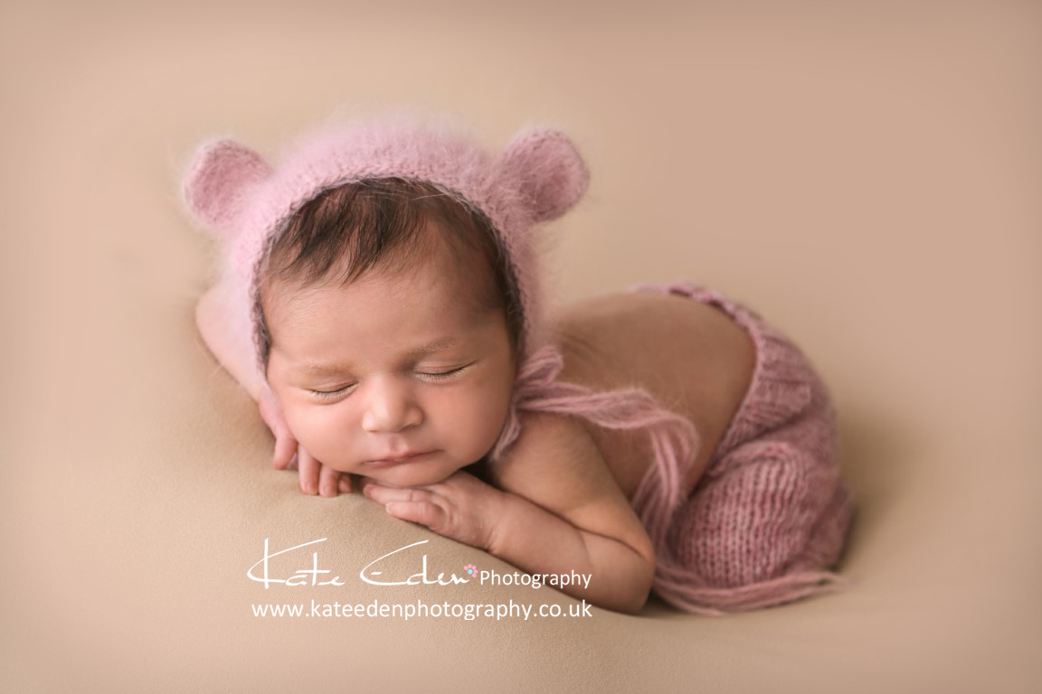 Newborn baby girl Isla